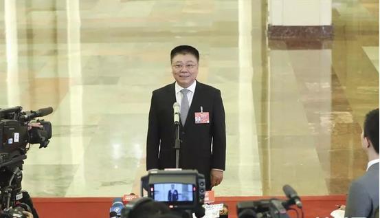 """住房和城乡建设部部长王蒙徽在""""部长通道""""接受采访"""